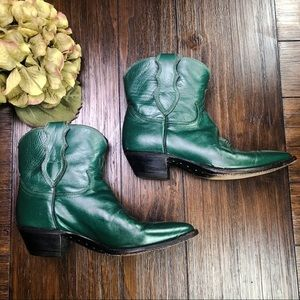 Justin Cowgirl Short Boots
